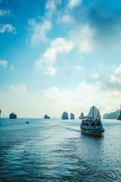 Off the beaten track Bai Tu Long Bay